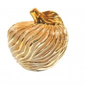 Decoratiune ceramica mar GOLDEN TOUCH, 13 CM