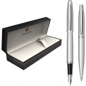 Set Sheaffer stilou + pix VFM Strobe Silver NT