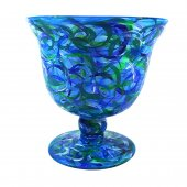 Vaza BLUE GLASS, 14 cm